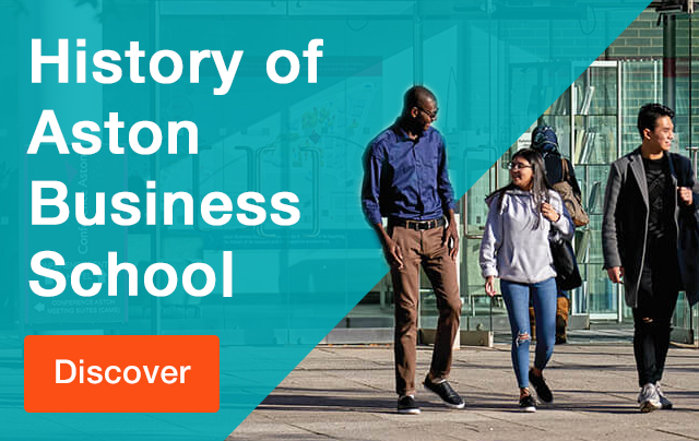 The History of Aston Business School