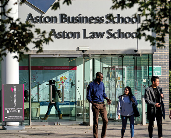 Why Choose the Aston MBA