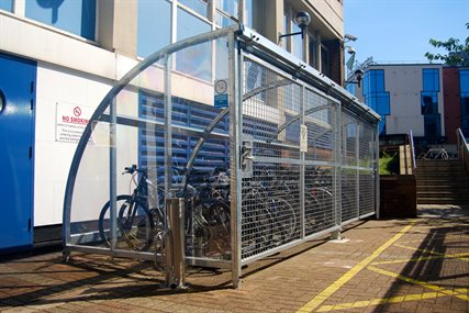 Safe bike storage