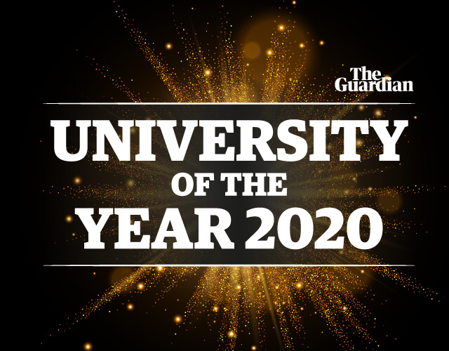 The Guardian university of the year 2020