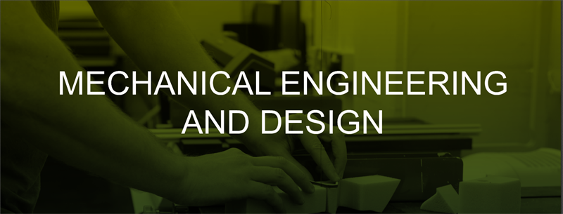 MECHANICAL ENGINEERING AND DESIGN HEADER