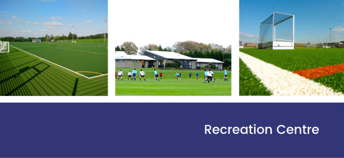 Recreation centre header