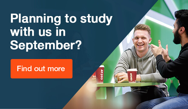 Planning to study with us in September?