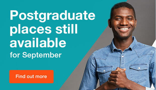 Postgraduate places still available