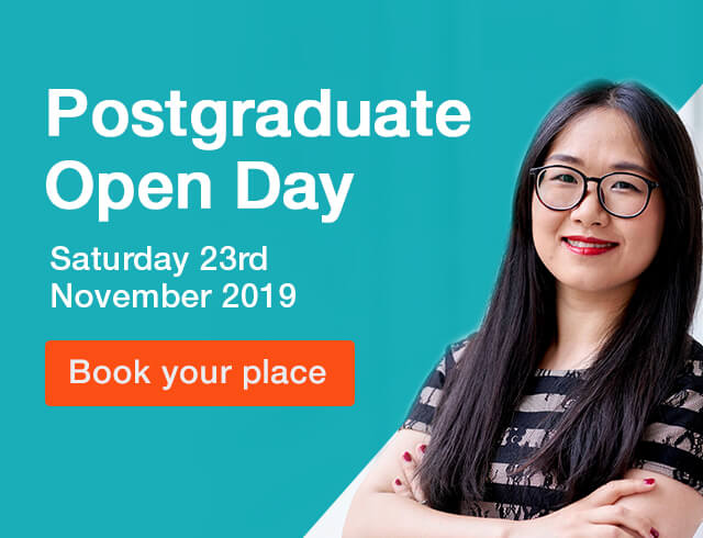 postgraduate open day 23rdnovember 2019
