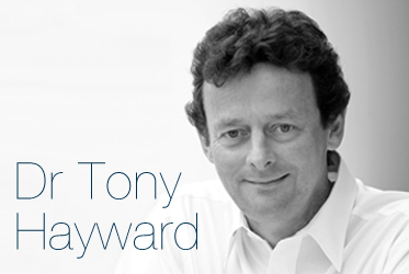 Dr Tony Hayward