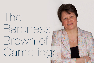 The Baroness Brown of Cambridge