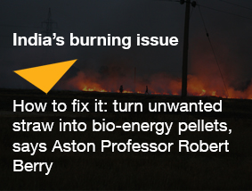 India's burning issue article