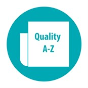 Quality a-z button