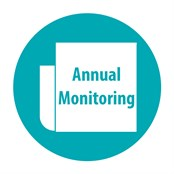 Annual Monitoring Button