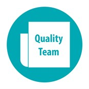 CLIPP Quality Team Button
