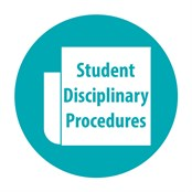 Student Disciplinary Procedures Button