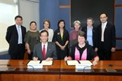 Partnership signing at Hong Kong PolyU
