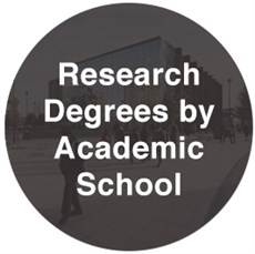 Research Degree by academic school page