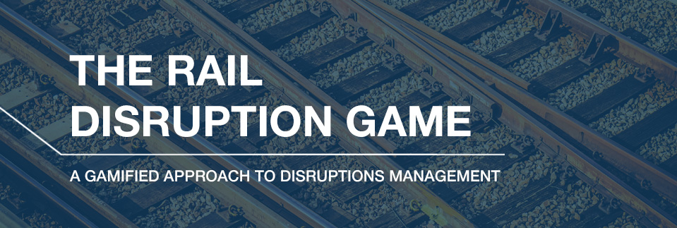 The Rail Disruption Game