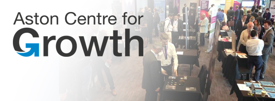 Aston Centre for growth Banner -Pitchfest