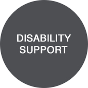 ABS Disability button