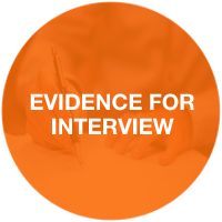 Evidence for interview