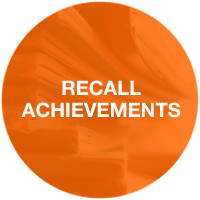 Recall achievements