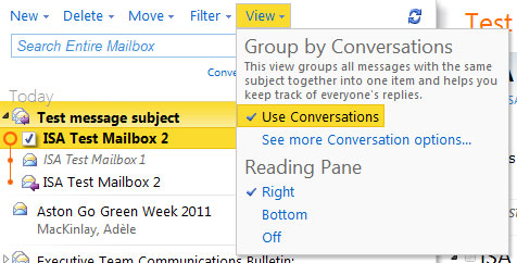About Converation View 2
