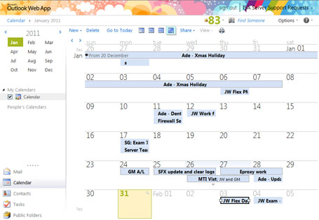 Shared Calendar Image
