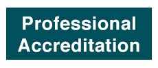 Professional accreditation courses: