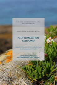 Book cover image for Olga Castro - Self-Translation and Power