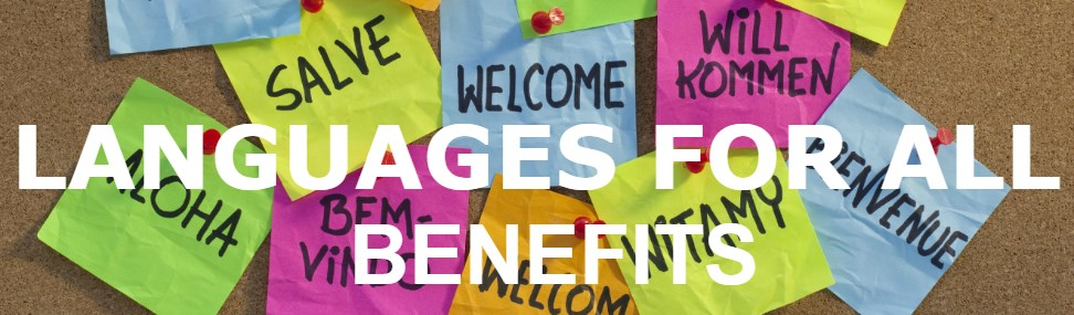 Languages for All Benefits Banner