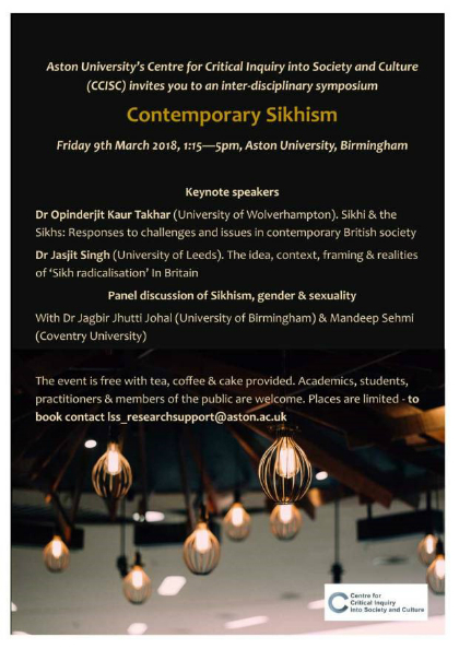 contemporary Sikhism poster 3 image