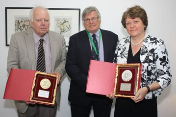 ICF Medal Prof Julia King