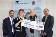 Aston Medical School Business Backing
