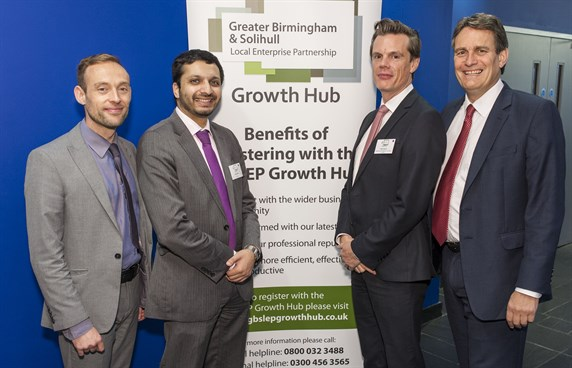 Greater Birmingham Growth Hub launch