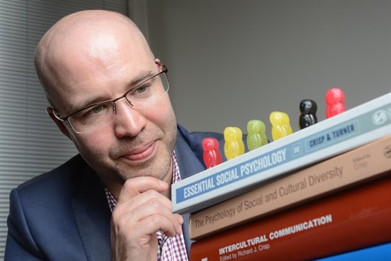Richard Crisp jelly baby and books shot