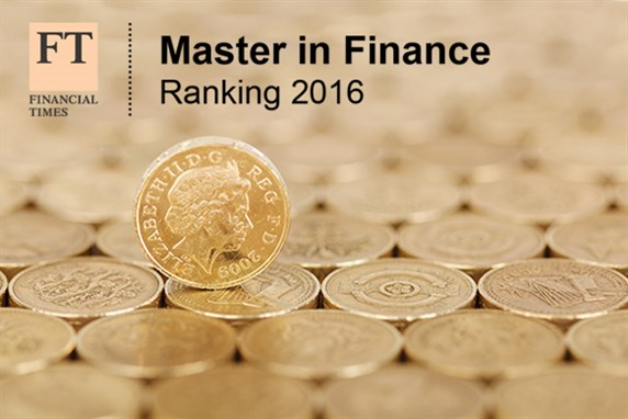 FT Masters in Finance Rankings