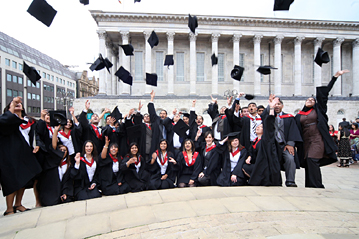Aston Graduation Birmingham Town Hall