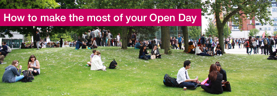 Make the most of the Open Day
