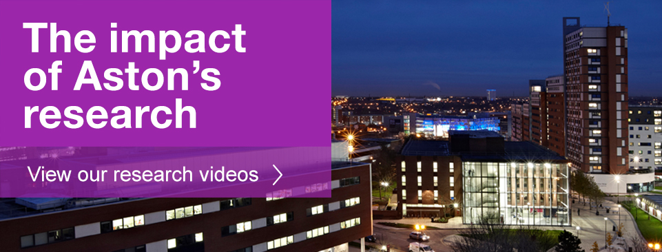 Aston University - Research Impact