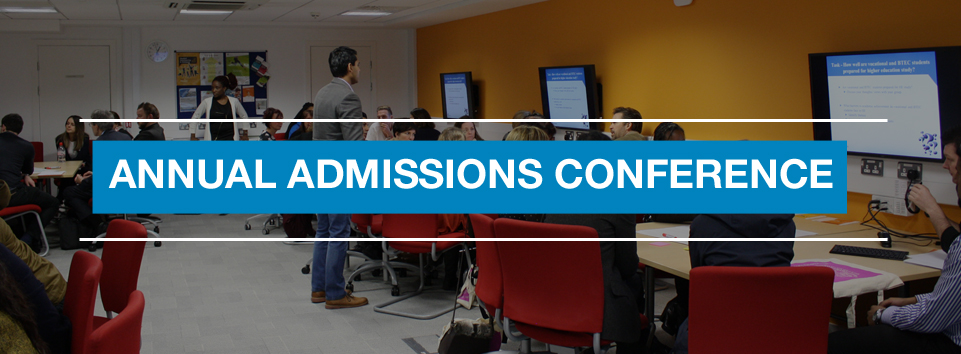 Annual Admissions and HE Guidance Conference