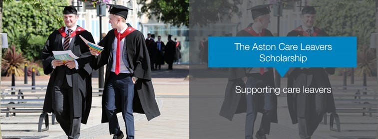 Aston care leavers scholarship