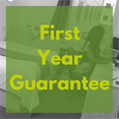 link button to first year guarantee