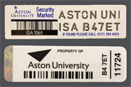 ISA Asset Labels
