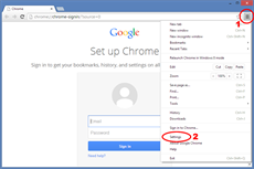 How to set up Google Chrome to use proxy server