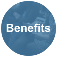 Benefits button